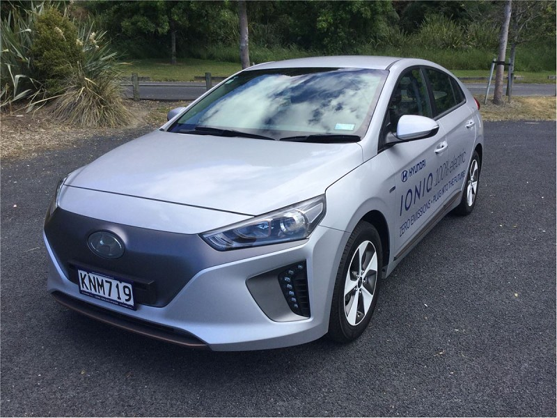 used hyundai 2017 ioniq ev at cooke howlison hyundai hyundai nz. Black Bedroom Furniture Sets. Home Design Ideas