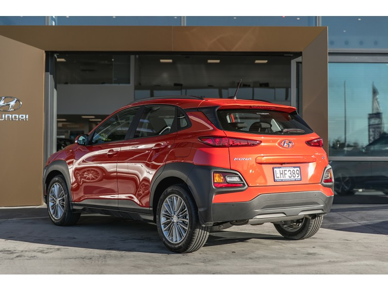 used hyundai 2018 kona 1 6l turbo awd at east auckland. Black Bedroom Furniture Sets. Home Design Ideas