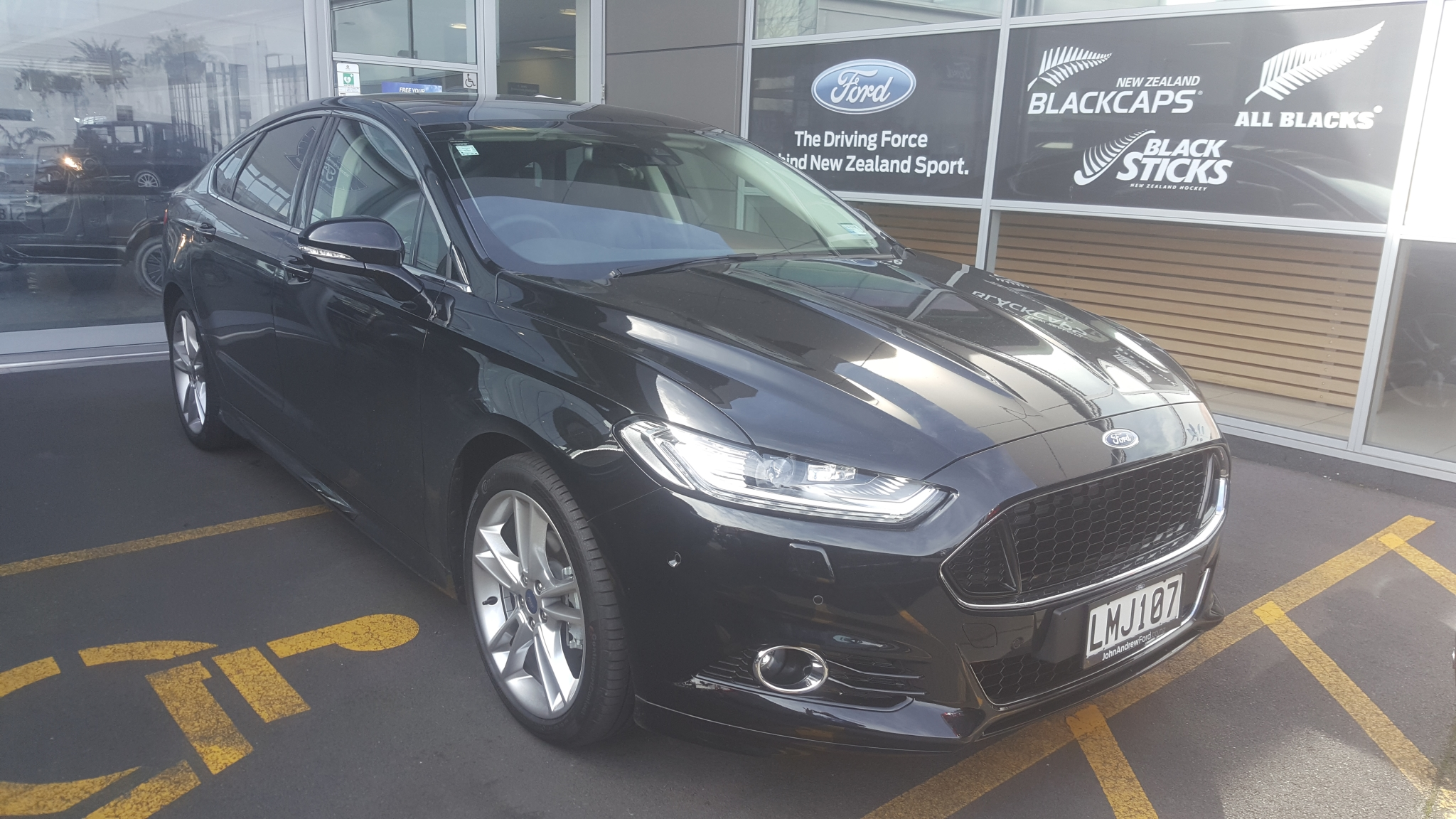 Ford Mondeo Titanium 5dr Petrol 2 0 2018 John Andrew New Used