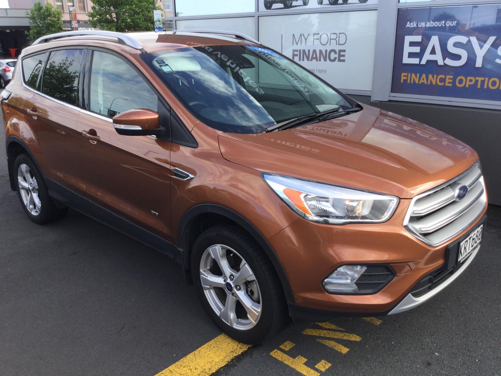 Ford escape 2017 retail price
