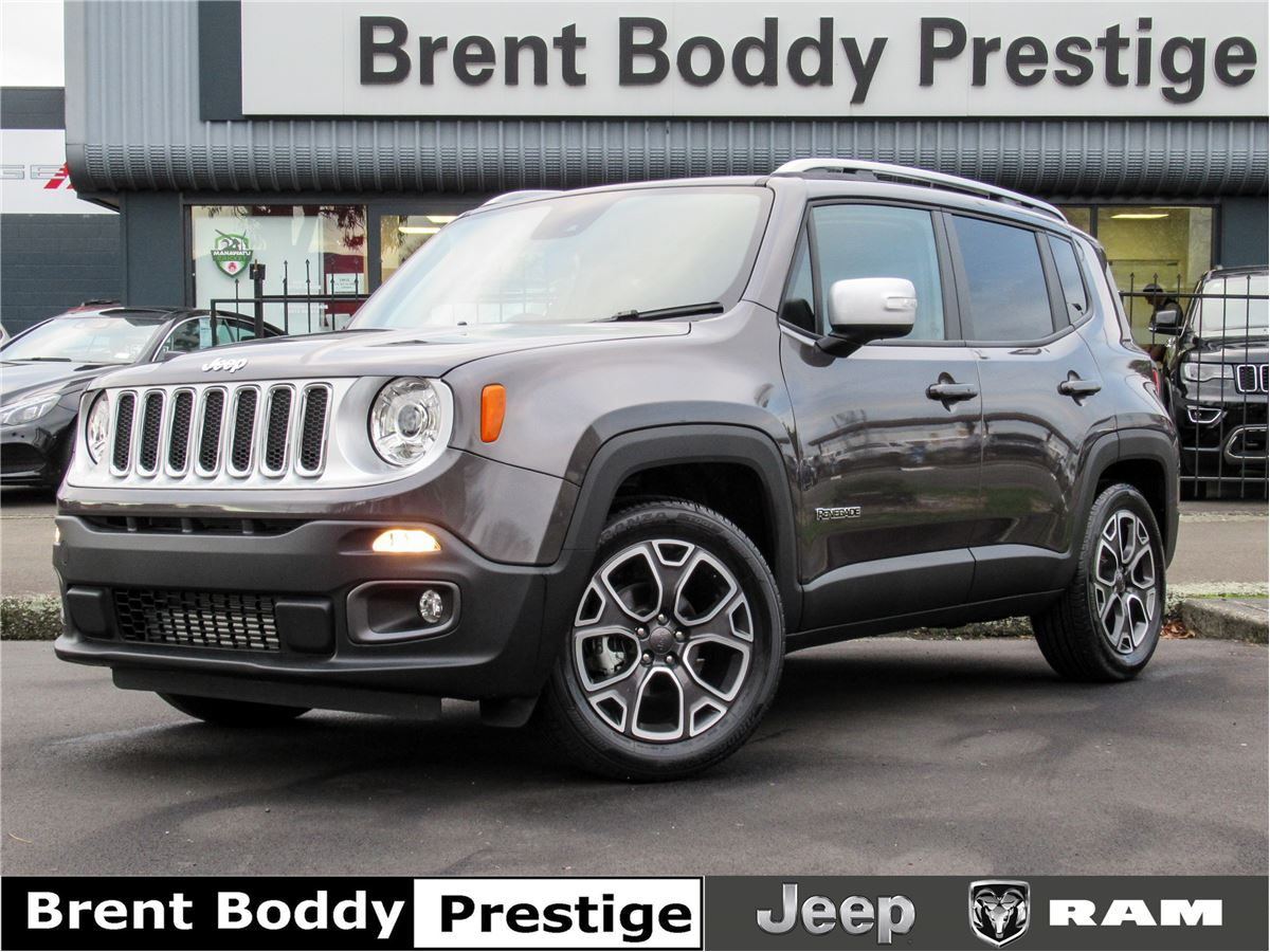 2019 Jeep Renegade Limited MY19 1.4T auto FWD