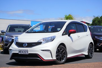 2016 Nissan Note Nismo 1.2L Supercharged
