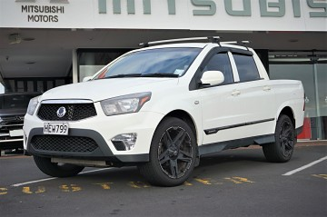2013 SsangYong Actyon Sport 2L TD 4wd Auto