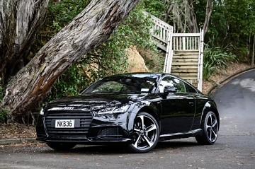 2017 Audi TT Black Edition S Line 1.8L 2wd Manual