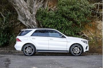 2016 Mercedes-Benz GLE 43 AMG 3L Turbo