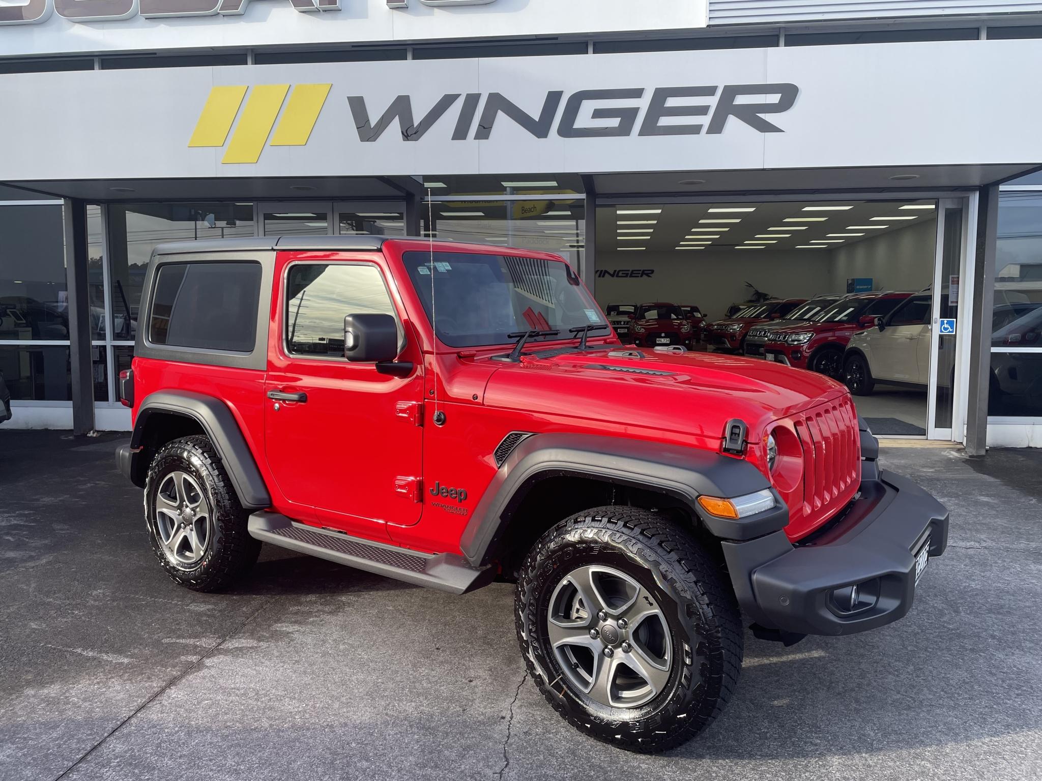 2021 Jeep Wrangler 2 Door Sport 3.6L P