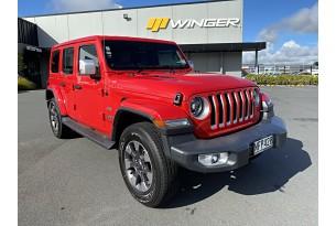 2021 Jeep Wrangler Overland 4DR Petrol