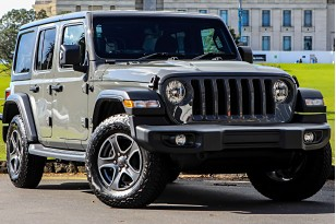 2019 Jeep Wrangler Sport P 3.6P 4WD 8A 5Dr Wagon