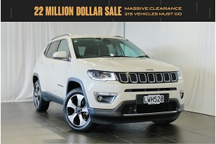 2018 Jeep Compass Limited 2.4P/4Wd/9At