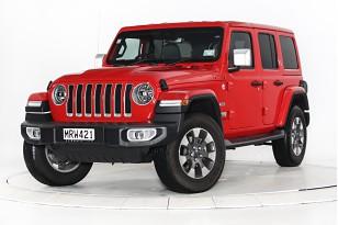 2020 Jeep Wrangler Overland 4X4