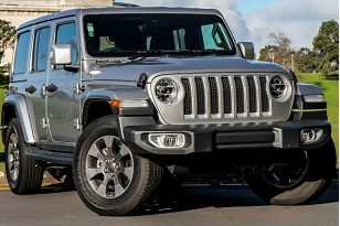 2020 Jeep Wrangler Overland 3.6P 4WD 5A 5Dr Wagon