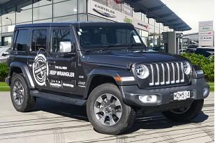 2020 Jeep Wrangler Overland 3.6Lt Petrol